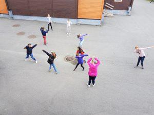 Elevene trives på Brøset